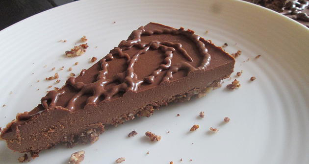 Chocolate Almond Fudge Cake
